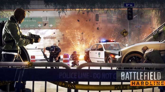 Battlefield Hardline: Jogadores veteranos receberão pacote especial (Foto: Divulgação)