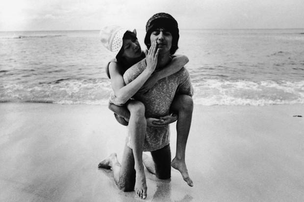 George Harrison, fã de praia! (Foto: Getty Images)