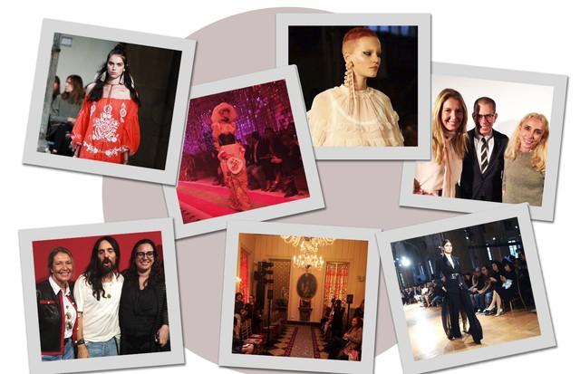 Diário da MFW: dia 1 (Foto: Arte Vogue Online)
