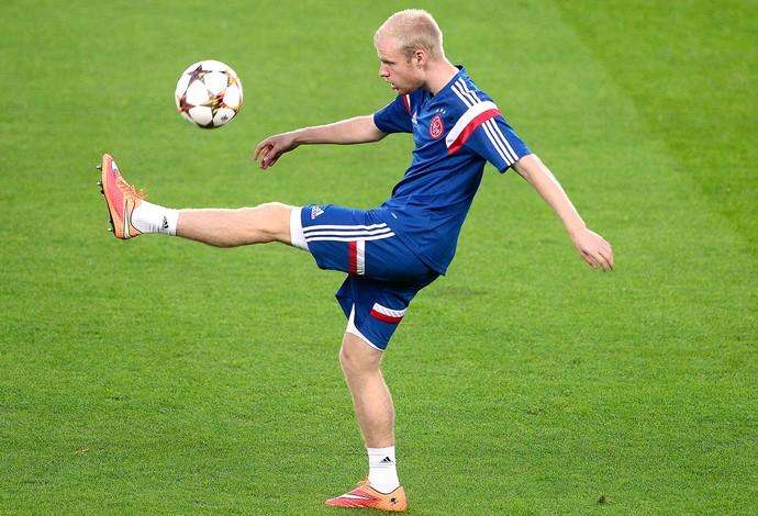Davy Klaassen treino Ajax (Foto: Agência AFP)