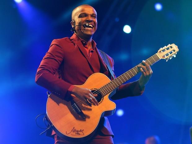 Alexandre Pires (Foto: Jefferson Bernardes/Agência Preview)