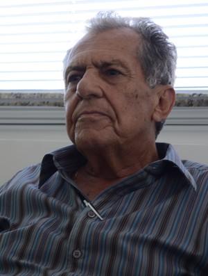 Carivaldo Souza, presidente da FSF (Foto: João Áquila, GLOBOESPORTE.COM)