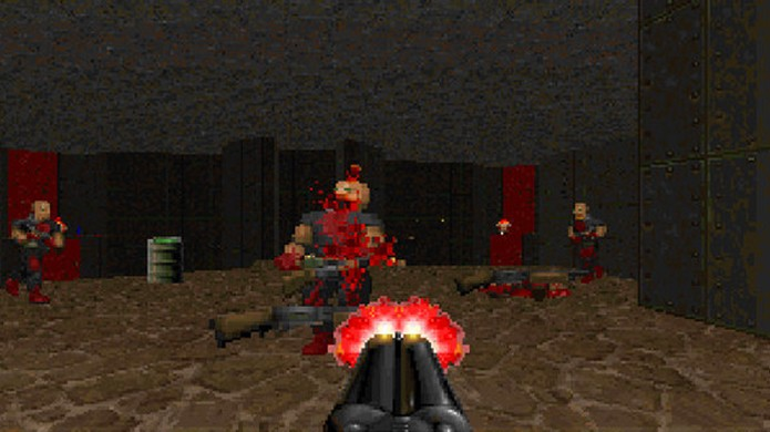 Doom 2: Hell on Earth não inventou muito, mas refinou tudo que fez sucesso no primeiro game (Foto: Reprodução/Good Old Games)