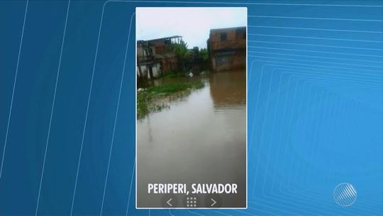 Previsão de chuva para esta segunda é de 80% em Salvador; confira