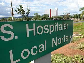 Setor Hospitalar Local Norte (Foto: Vianey Bentes/TV Globo)