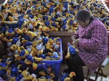 Fábrica chinesa investe em mascote da Copa do Mundo (AFP)
