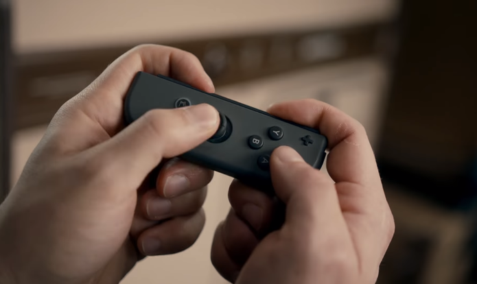 Controle pode ser desmontado (Foto: Reprodução/Nintendo)