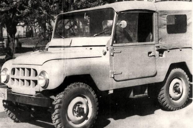 História da Land Rover no Brasil (Foto: Reprodução)