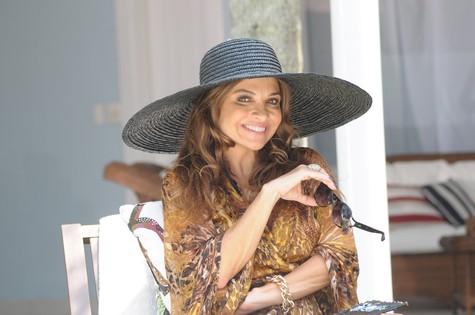Luiza Tomé: ex-modelo em novela (Foto: Munir Chatack/ Record)