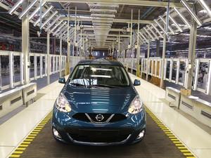 Com novo March, Nissan planeja ter 5% do mercado nacional (Foto: Divulgação)