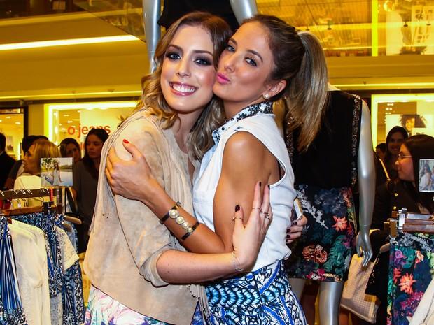 Fabiana Justus e Ticiane Pinheiro em evento em São Paulo (Foto: Manuela Scarpa/ Foto Rio News)