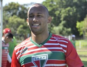 Igor, goleiro do Operário-MT (Foto: Christian Guimarães)