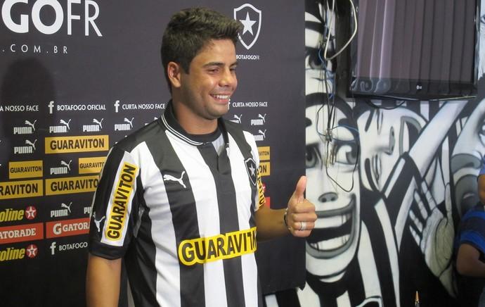 henrique botafogo (Foto: Thales Soares/GLOBOESPORTE.COM)