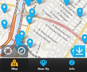 Free WiFi Map (Foto: Reprodução)