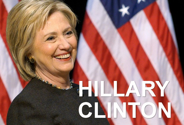 Cartela Hillary Clinton (Foto: Rick Wilking/Reuters)
