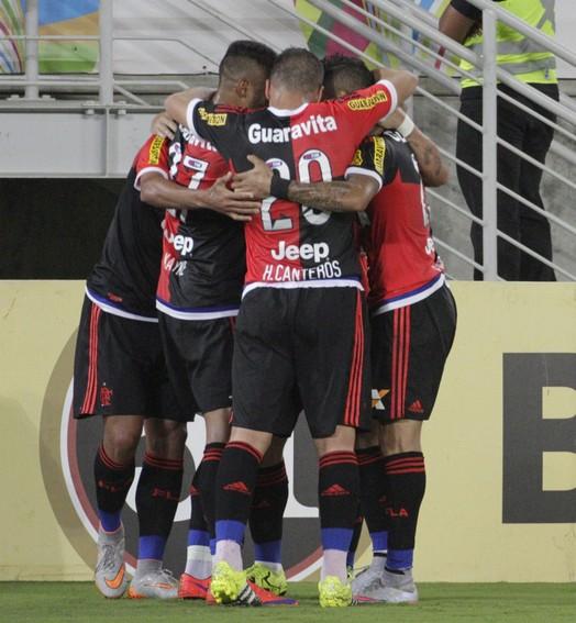 trinca (Gilvan de Souza/ Flamengo oficial)