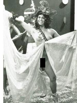 Enoli com a fantasia de 1989 (Foto: Arquivo Pessoal)