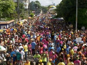 Bloco Os Irresponsáveis, do Recife (Foto: Luna Markman/G1 PE)