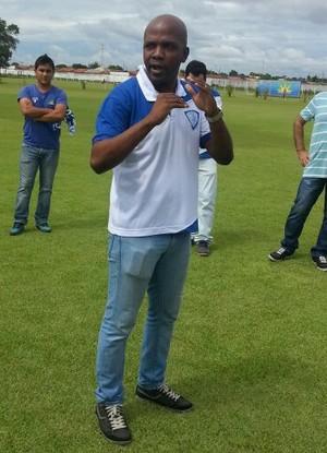 Treinador Thiago Oliveira Sinop (Foto: Divulgação/Dom Bosco)