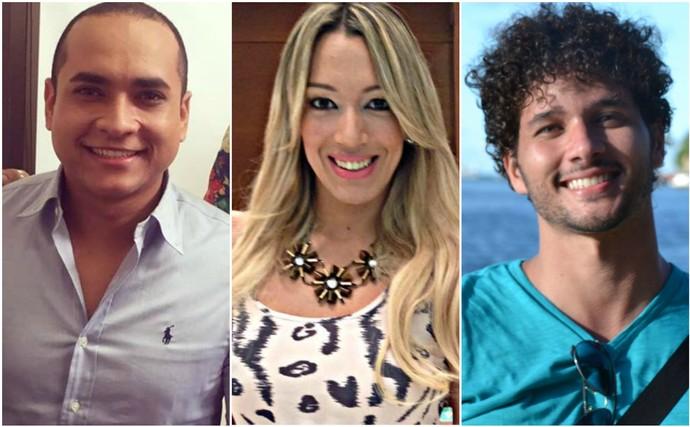 Trio 'Combinado' (Foto: TV Sergipe)