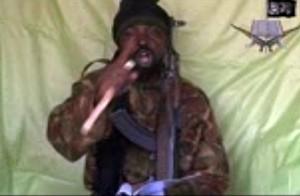 Em vídeo obtido pela AFP, homem declara ser o líder do grupo Boko Haram (Foto: AFP Photo/Boko Haram)
