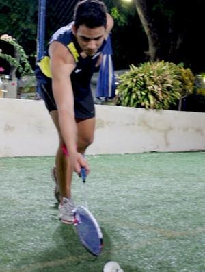 Lucas Alves - Badminton - Piauí 2 (Foto: Náyra Macêdo/GLOBOESPORTE.COM)