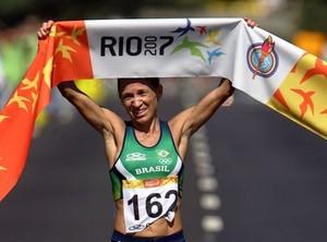 Márcia Narloch, destaque no atletismo brasileiro estará na Corrida de Palmas (Foto: Divulgação)