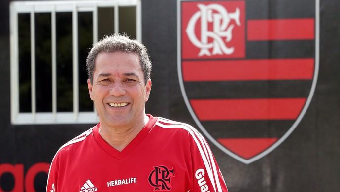 Luxemburgo no Flamengo (Foto: Cezar Loureiro / Agência O Globo)