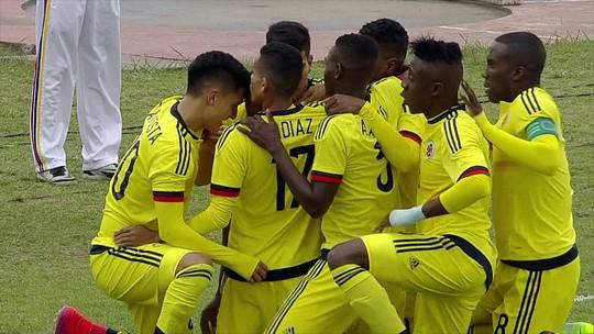 Colômbia vence Chile, se classifica e passa Brasil no Sul-Americano Sub-20