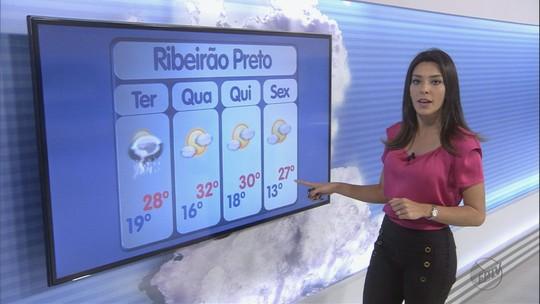 Granizo e vendaval deixam 26 mil sem energia na região de Ribeirão Preto