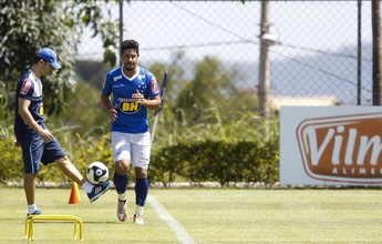 Ansioso, Léo evita falar sobre retorno e valoriza concorrência no Cruzeiro