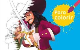 Para colorir: Peter x Gancho
