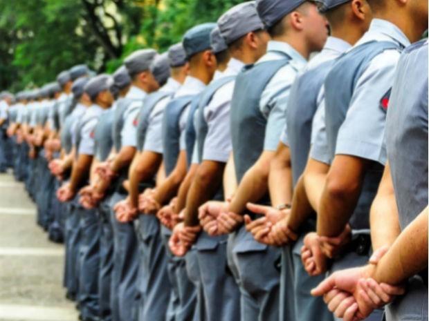 Concurso da Polícia Militar em São Paulo (Foto: Fabio Martins/Futura Press/Estadão Conteúdo)