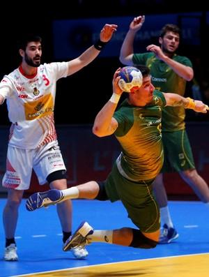 Brasil x Espanha, Mundial de Handebol (Foto: Reuters)