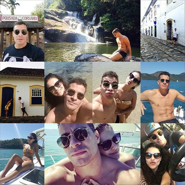Thiago Martins e Paloma Bernardi (Foto: Instagram)