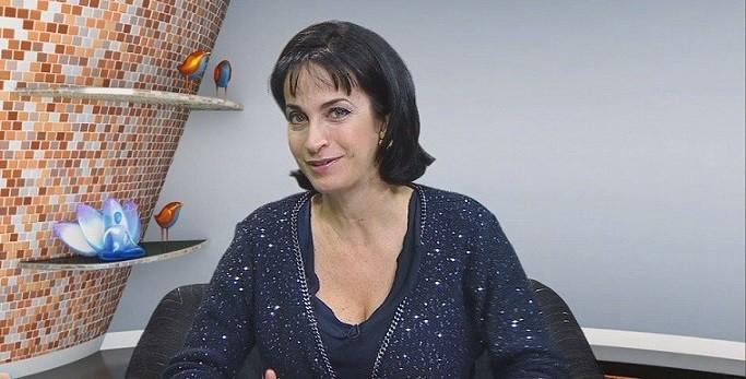 Claudia Matarazzo no programa Viver Bem (Foto: Reprodução/TV Tribuna)