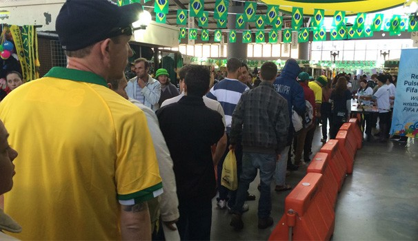 Fifa Fan Fest - Curitiba (Foto: Ana Helena Goebel/G1 PR)