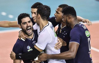 Cruzeiro atropela Zenit e é tricampeão mundial de clubes de vôlei masculino