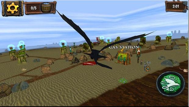 'Dragons Adventure' usa elementos do mundo real para criar fases (Foto: Divulgação/Microsoft)