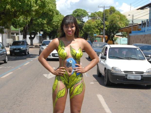 Kalçadarte ocorre todos os domingos em Macapá (Foto: Gabriel Penha/G1)