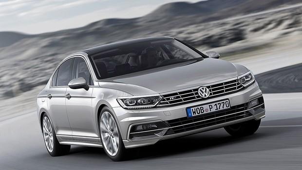 FOTOS: oitava geração do Volkswagen Passat