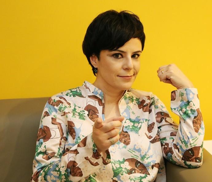 Fernanda Takai é uma das mulheres mais influentes do rock nacional (Foto: Carol Caminha/Gshow)