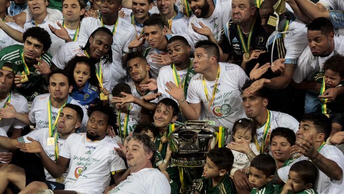 Palmeiras zoação Ricardo Oliveira título Copa do Brasil (Foto: Ale Frata / Agência Estado)