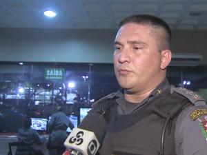 Tenente-coronel Huelton Medeiros teria ameaçado oficial da Justiça Militar do Amapá (Foto: Reprodução/Rede Amazônica no Amapá)