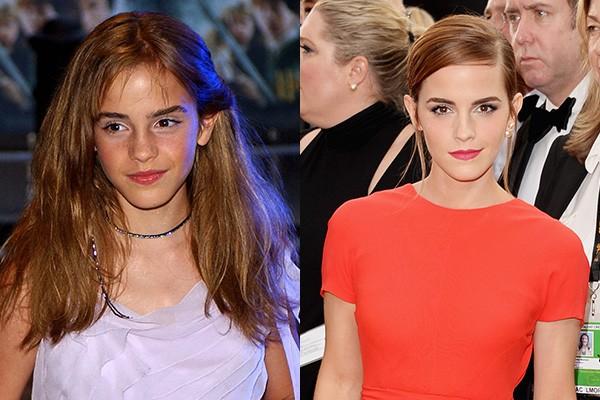 Emma Watson tinha 11 anos quando viveu Hermione Granger nas telonas pela primeira vez. No entanto, a estrela percorreu um grande caminho desde os tempos de Harry Potter, atuando em filmes como 'As Vantagens de Ser Invisível', 'Bling Ring: A Gangue de Hollywood' e 'Noé'. (Foto: Getty Images)
