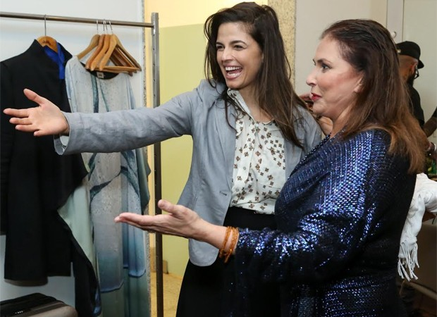 Emanuelle Araújo e Fafá de Belém (Foto: Roberto Filho/Brazil News)