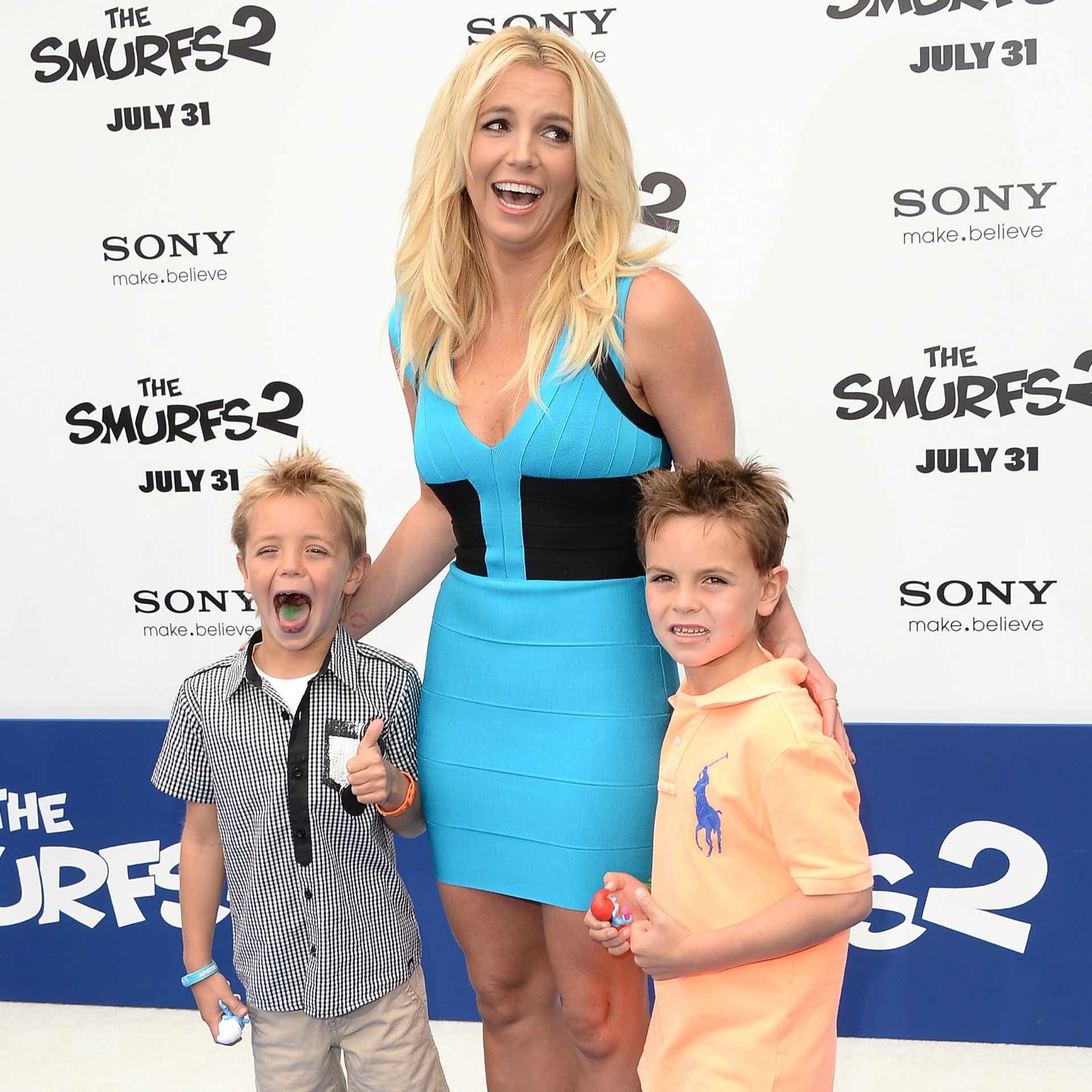 A cantora Britney Spears, mãe de Sean e Jayden James. (Foto: Getty Images)