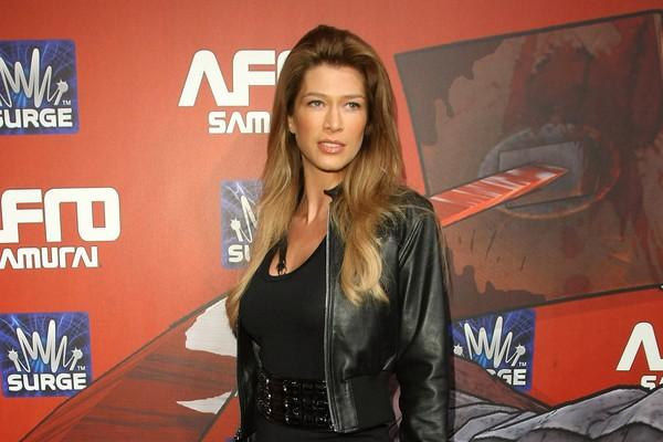 A atriz e modelo Amber Smith (Foto: Getty Images)