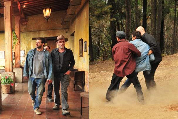 Henri Castelli viverá muita ação na pele de Cassiano (Foto: João Miguel JR./Rede Globo)