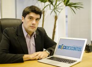 Pedro Eugênio, fundador do Busca Descontos (Foto: Divulgação)